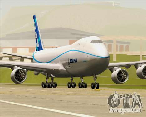 Boeing 747-8 Cargo House Livery für GTA San Andreas Räder