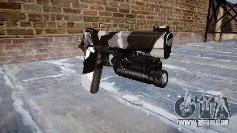 Pistolet Kimber 1911 Sibérie pour GTA 4