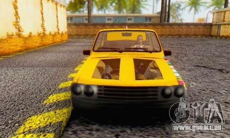 Dacia 1310 Sport Tuning v2 pour GTA San Andreas laissé vue