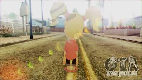 Cindy Vortex from Jimmy Neutron für GTA San Andreas zweiten Screenshot