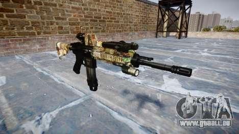 Automatische Gewehr Colt M4A1 ronin für GTA 4