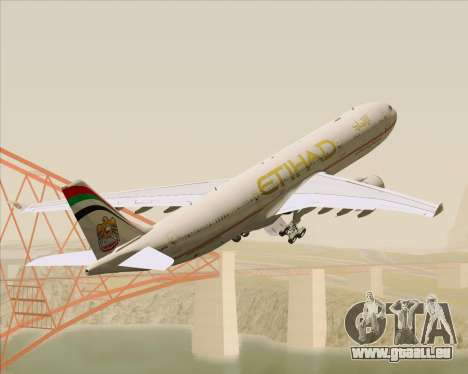Airbus A330-300 Etihad Airways für GTA San Andreas