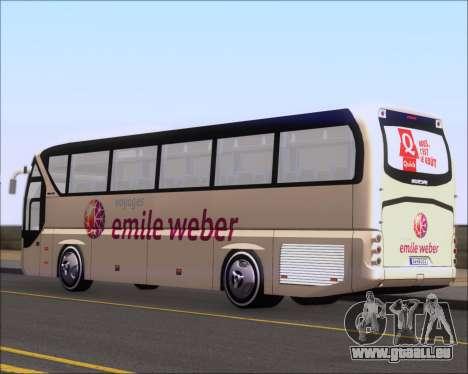 Neoplan Tourliner Emile Weber pour GTA San Andreas vue de droite