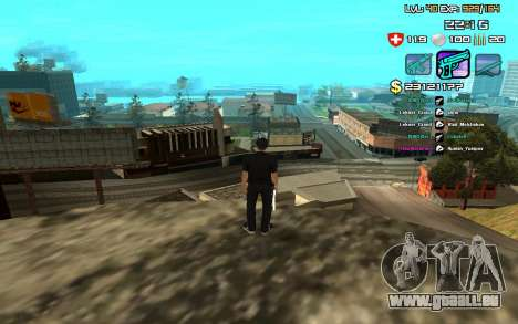 C-HUD by SampHack v.12 für GTA San Andreas zweiten Screenshot