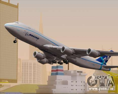 Boeing 747-8 Cargo House Livery pour GTA San Andreas