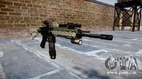 Automatische Gewehr Colt M4A1 carbon fiber für GTA 4