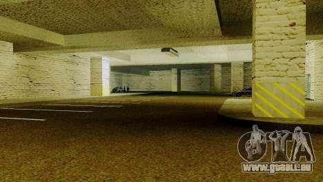 Neue Texturen Parken in der LSPD für GTA San Andreas