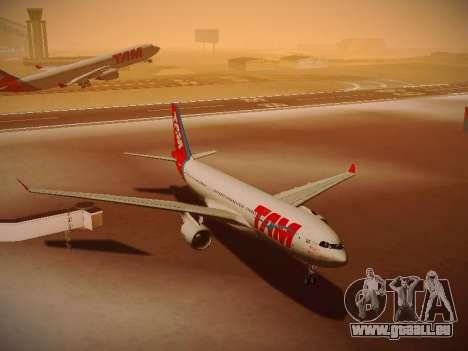 Airbus A330-200 TAM Airlines für GTA San Andreas Seitenansicht