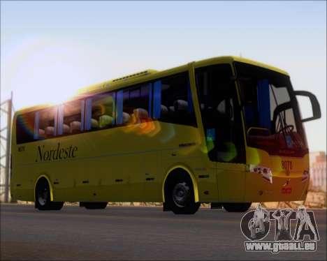 Busscar Elegance 360 Viacao Nordeste 8070 pour GTA San Andreas sur la vue arrière gauche