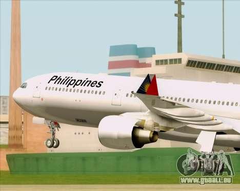 Airbus A330-300 Philippine Airlines für GTA San Andreas Seitenansicht