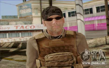 Frost from ArmA II: PMC für GTA San Andreas dritten Screenshot