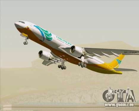 Airbus A330-300 Cebu Pacific Air pour GTA San Andreas