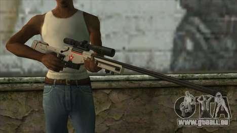 Sniper Rifle from PointBlank v2 für GTA San Andreas dritten Screenshot