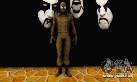 Skin The Amazing Spider Man 2 - DLC Noir pour GTA San Andreas quatrième écran
