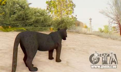 Black Panther (Mammal) für GTA San Andreas fünften Screenshot