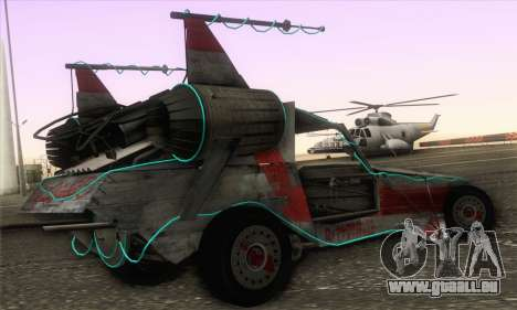Space Docker from GTA V für GTA San Andreas linke Ansicht