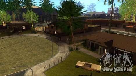 Neue HD-Texturen Häuser auf der grove street v2 für GTA San Andreas
