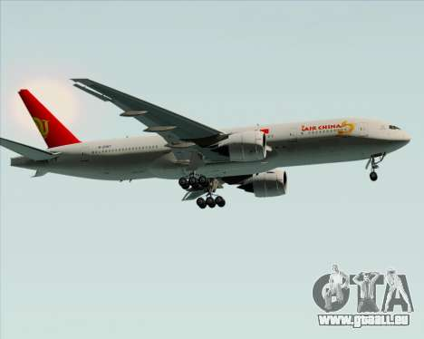 Boeing 777-200ER Air China für GTA San Andreas obere Ansicht