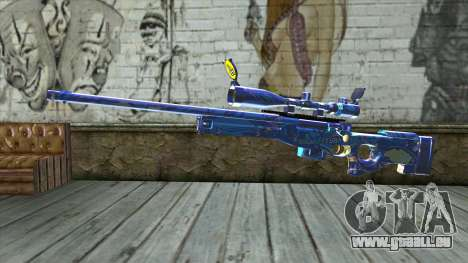 Graffiti Sniper Rifle v2 für GTA San Andreas