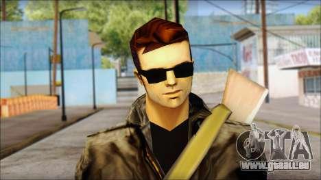Shades and Gun Claude v2 pour GTA San Andreas troisième écran