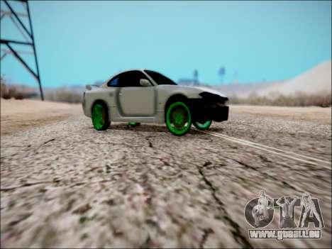 Nissan Silvia S15 für GTA San Andreas obere Ansicht