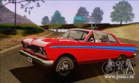 GTA V Blade pour GTA San Andreas vue arrière