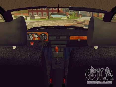 GAZ-24-12 Corbillard pour GTA San Andreas vue de droite