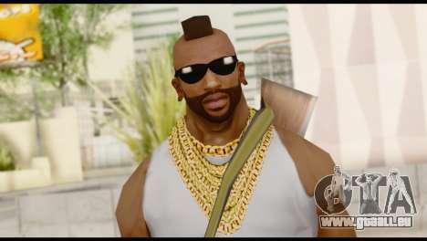 MR T Skin v8 pour GTA San Andreas troisième écran