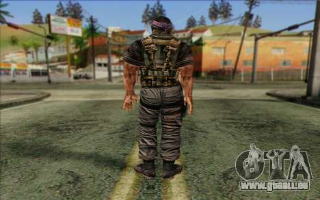 Soldaten aus dem Rogue Warrior 3 für GTA San Andreas zweiten Screenshot