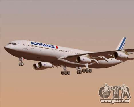 Airbus A340-313 Air France (New Livery) pour GTA San Andreas moteur