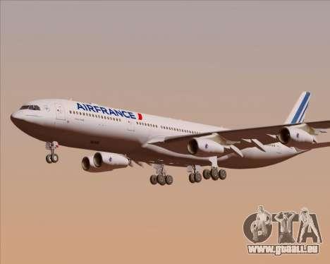 Airbus A340-313 Air France (New Livery) für GTA San Andreas Motor