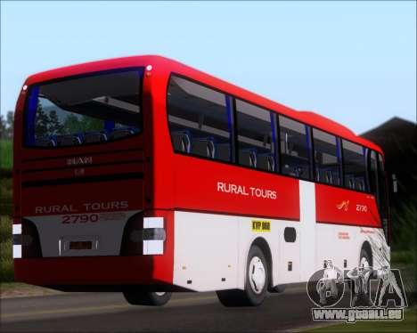 MAN Lion Coach Rural Tours 2790 pour GTA San Andreas