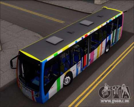 Caio Millennium II Volksbus 17-240 pour GTA San Andreas vue arrière