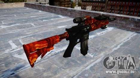 Automatische Gewehr Colt M4A1 Speck für GTA 4 Sekunden Bildschirm
