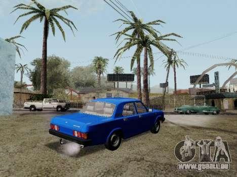 GAZ 31029 Volga pour GTA San Andreas laissé vue