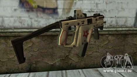 Kriss Super from PointBlank v2 pour GTA San Andreas deuxième écran