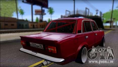 VAZ 2106 Sport pour GTA San Andreas laissé vue