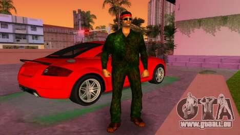 Camo Skin 14 GTA Vice City pour la deuxième capture d'écran