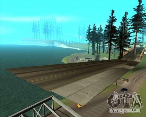 Sky Road Merdeka pour GTA San Andreas septième écran