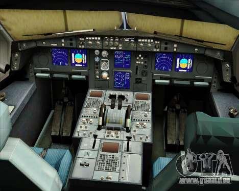 Airbus A330-300 Sabena für GTA San Andreas Innen