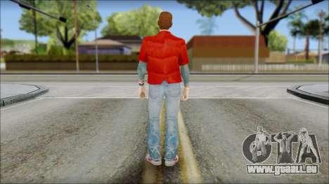 Marty with Vest 1985 für GTA San Andreas zweiten Screenshot
