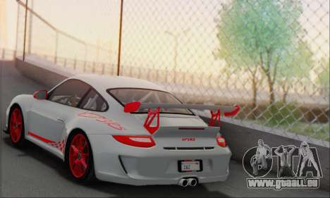 Porsche 911 GT3 2010 pour GTA San Andreas vue de droite