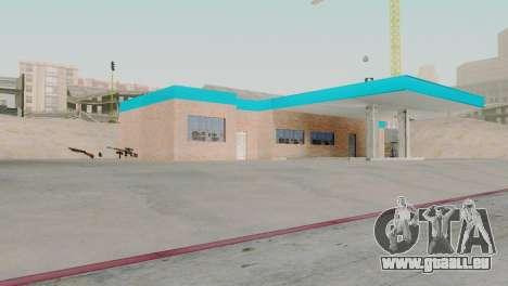 Neue Texturen garage in San Fierro für GTA San Andreas zweiten Screenshot