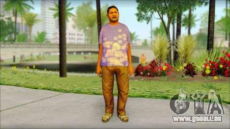 GTA 5 Ped 21 für GTA San Andreas
