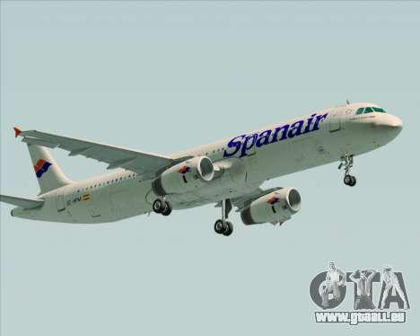 Airbus A321-231 Spanair für GTA San Andreas Seitenansicht