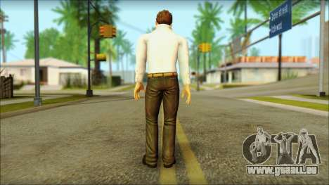 Dead Or Alive 5 Jann Lee 3rd Outfit für GTA San Andreas zweiten Screenshot