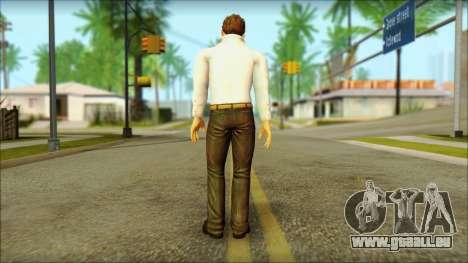 Dead Or Alive 5 Jann Lee 3rd Outfit pour GTA San Andreas deuxième écran