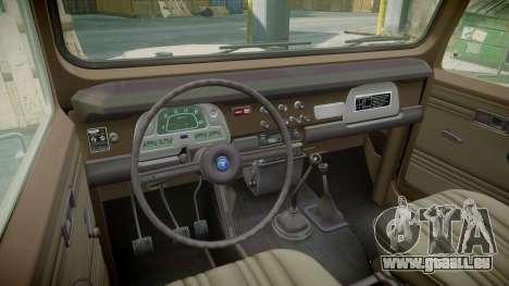 Toyota FJ40 Land Cruiser 1978 v1.7 pour GTA 4 Vue arrière