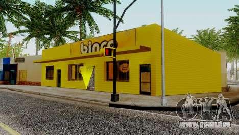 Neue Texturen für Binco auf die grove street für GTA San Andreas