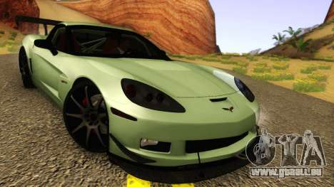 Chevrolet Corvette Z06 2006 Drift Version pour GTA San Andreas